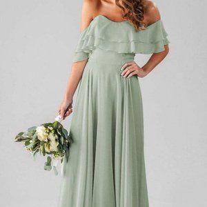 Kennedy Blue Allison Bridesmaids Dress-Sage